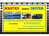 Part Time PSV/PCV (school run) Minibus Driver MUST have Cat D, D1 DRIVERS LICENSE CPC card