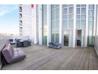 MASSIVE TERRACE!! MODERN NEW BUILD 2 BED FLAT, CANNING TOWN, E16 - AW