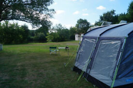 Kampa Rallye Plus 260 2014 with poles, straps, lining, annexe, storm ties breathable groundsheet