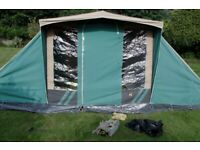 HIGH QUALITY RELUM CANVAS FAMILY TENT - SIMILAR TO CABANON