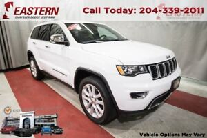2017 Jeep Grand Cherokee Limited 4X4 LEATHER HEATED SEATS LOADED
