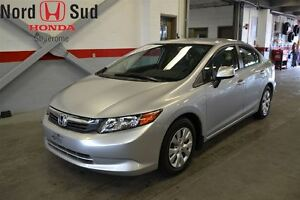 2012 Honda Civic *LX*AUTOMATIQUE*A/C*BLUETOOTH*
