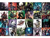 Comics job lot Marvel venomized comics full set of 26 plus extra copies