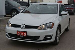 2015 Volkswagen Golf 1.8 TSI Comfortline/WARRANTY 4YR OR 80,000K