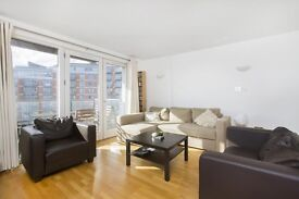 An Amazing 1 Bed Apartment in New Providence Wharf, Gym, Pool, Concierge, Balcony with River Views
