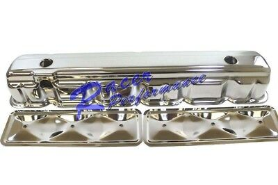 62-74 Chevy Straight 6 Cylinder Chrome Valve Cover w/ Side Plate 194 230 250 292 6 Cylinder Valve Cover