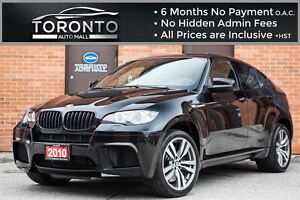 2010 BMW X6 M NAVIGATION+CAMERA+HEADS UP DISPLAY+SUNROOF
