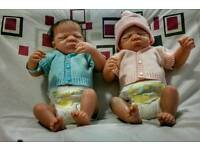 Twin reborn doll (girl and boy)
