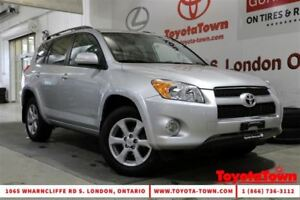 2012 Toyota RAV4 FULLY LOADED 4WD LIMITED LEATHER NAVIGATION