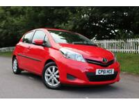 TOYOTA YARIS 1.3 VVT-I TR 5d AUTO 98 BHP 5 STAR AWARD WINNING DEALER (red) 2011