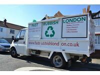 ALL LONDON-RUBBISH REMOVAL-WASTE CLEARANCE-RUBBISH COLLECTION-Junk Clearance-Waste disposal-GARDEN