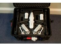 dji Inspire 1 pro with X5 camera and peli case