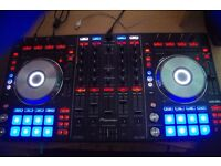 Pioneer DDJ-SX DJ Controller For Serato DJ with KRK Rokit RP5 G2 Active Studio M