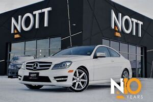 2013 Mercedes-Benz C-Class C350, 4MATIC, Nav, Pano Roof, One Own
