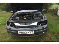 renault laguna dci 1.9 breaking for spares 6 speed please call