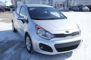 2013 Kia Rio LX+ LOW KMS, Accident free and heated seats!