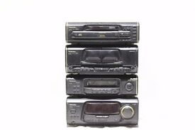 Technics SA-EH60, SH-EH60, RS-EH60, SL-EH60 Amplifier Tuner Tape Deck CD Player