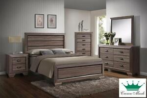 Brand NEW Farrow Grey Queen Bed! Call 709-726-6466!