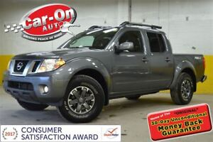 2017 Nissan Frontier PRO-4X CREW LEATHER NAVI SUNROOF