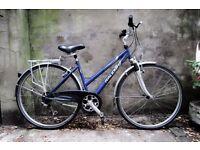 RALEIGH PIONEER 160, 18 inch, 49 cm, ladies womens hybrid road bike, 18 speed