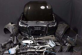 Car part: Front End UK Bixenon Headlights Radiator Audi A6 2010 - 2016 SLine 4G5 4G2 4GD C7 RHD