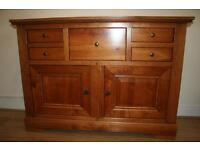 SIDEBOARD French farmhouse style. Solid cherry wood