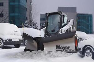 Brand New Meyer Skid Steer Snow Plow - Meyer Super-V2 Snowplow for Skid Steers!