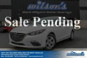 2014 Mazda MAZDA3 GX-SKYACTIV SEDAN! BLUETOOTH! ALLOYS! STEERING