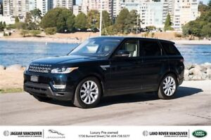 2016 Land Rover Range Rover Sport V6 HSE *Certified Pre-Owned!