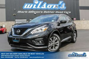 2017 Nissan Murano SV AWD! NAVIGATION! PANORAMIC SUNROOF! HEATED