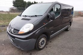 VAN FOR SALE Renault Trafic SL27dCi 115 BLACK