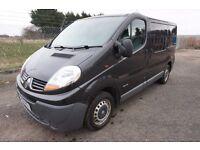 VAN FOR SALE Renault Trafic SL27dCi 115 BLACK