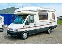 Autosleeper Talisman 2/4 Berth, 2003 Monocoque Coachbuilt, Peugeot Boxer 2.8 HDI, 50,000 miles