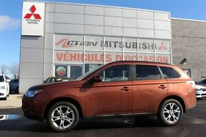 2014 Mitsubishi Outlander SE+V6+7 PASSAGERS+TOIT+MAGS 18''