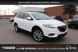 2014 Mazda CX-9 GT, AWD, LEATHER, HEATED SEATS, MOONROOF