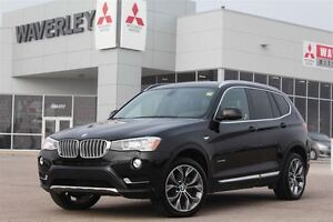 2016 BMW X3 xDrive28i/Nav/Heated Leather/ Heated Steering Whee