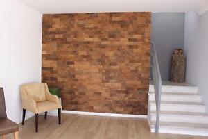 7mm Orgbrick Wall Panels & 8mm Cork Tiles, Natural Thermal Insulator Excellent Acoustic Values, Decorative Wall Covering