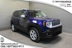 2017 Jeep Renegade Limited Leather - Bluetooth - Navigation