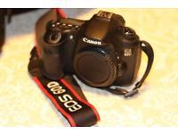 Canon EOS 60D camera + Manfrotto bag O.B.O