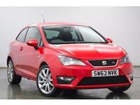 Seat Ibiza 1.2 TSI FR 3Dr Hatchback (emocion red) 2014