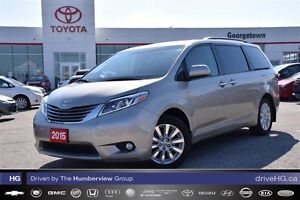 2015 Toyota Sienna AWD XLE fully loaded and very rare!