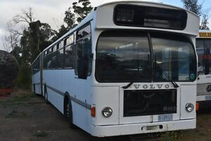 1984 B10M  Volvo Articulated Bus still in Service Dunalley Sorell Area Preview