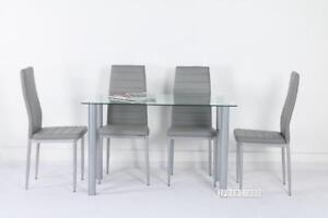 ifurniture-Glass dining table starts from $89! Dining Set from $199