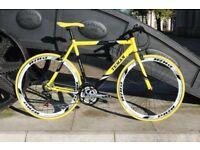 Brand New TEMAN PRO-3.0 aluminium 21 speed hybrid road bike bgtza1