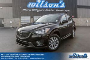 2014 Mazda CX-5 GX PUSH BUTTON START! BLUETOOTH! POWER PACKAGE!