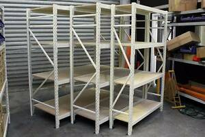 White Shelving Many Sizes Banyo Brisbane North East Preview