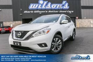 2016 Nissan Murano SV AWD! NAVIGATION! PANORAMIC SUNROOF! REAR C
