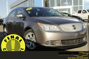 2011 Buick LaCrosse CXL| Leather Heat Seats| Rem Start| Bluetoot
