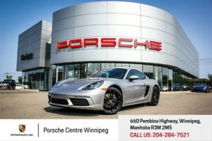 2018 Porsche 718 Cayman Certified Pre-Owned Warranty With Unlimi