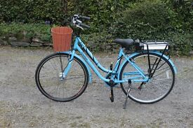 Electric Bike; Tiger Lady's Vintage